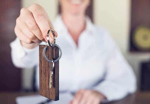Sicherheit bei Schlüsselübergabe