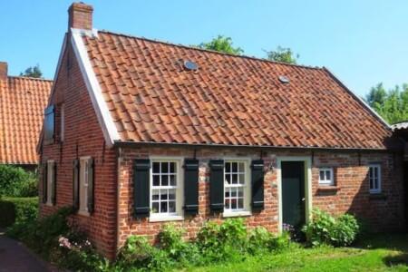 Ferienhaus Ehmens Lüttje Huus Ferienhaus von 1752 Ansicht Haus